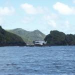 Verlassenes Haus auf Goat Island - Tobago