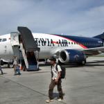 Die Maschine der Batavia Air
