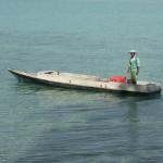 Einheimischen Boot
