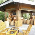 Die Bar auf der Insel