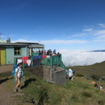 Piton des Neiges - Berghütte über den Wolken