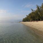 Der Strand bei Saint Pierre