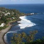 Die Südküste der Insel
