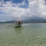 Oberflächenpause auf Sandy Island