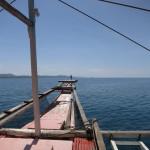 Tauchboot an der Westküste