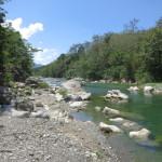 Fluss aus den Bergen
