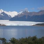 Der Gletscher mit dem Brazo Rico in Front